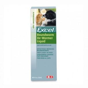 Excel Roundworm De Wormer Liquid