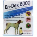 EN-DEX 8000 REMOVE TICKS AND FLEAS FOR MEDIUM DOGS 10 tablets